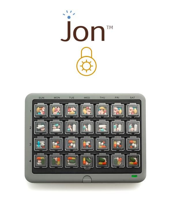 MedMinder Jon - medication lock box